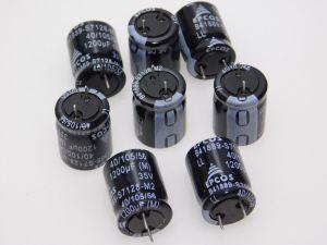 1200MF 35V capacitor EPCOS low esr , 21x16 (n.8pcs.)