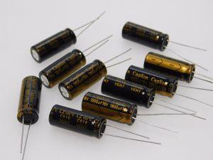 1800MF 16V capacitor CapXon LZ105° low esr , 25x10 (n.10pcs.)