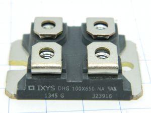 DHG 100X650 NA IXYS , ultra fast diode 2x50A 600V , SO227