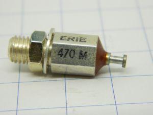 470pF Condensatore passante ERIE 470M filtro EMI