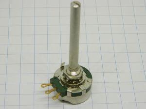 Potenziometro 1Mohm 2W CLAROSTAT RV4NAYSG105A , terminali dorati