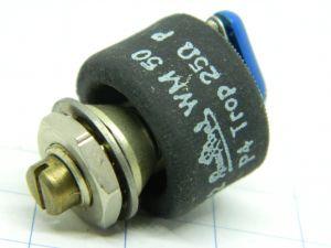 Potenziometro a filo 25ohm 1W ROSENTHAL P4 WM50, regolazione a vite