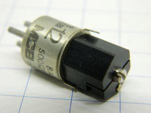 Potenziometro 500ohm MCB BA787 , regolazione a vite