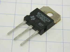 BDW83C Texas transistor NPN darl. 100V 15A 150W