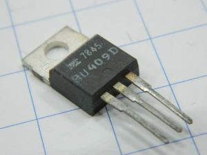 BU409D transistor NPN 250V 70W
