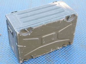 """Contenitore stagno rack 19"""" professionale in alluminio cm. 60x38,5x29"""