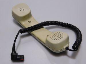Handset with connector SCHALTBAU VG95351 A7  also for radio SE6861