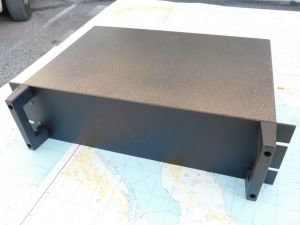 "Metallic box rack 19"" 4 units"