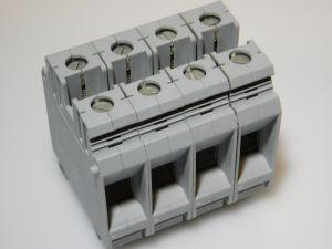 Morsetto componibile Phoenix Contact BK35/E  35mmq. barra DIN  (n.4 pezzi)