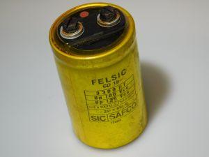 3300uF 125V condensatore elettrolitico Felsic