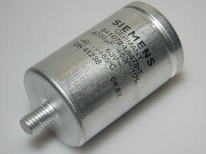 4700uF 63V condensatore elettrolitico SIEMENS B41072