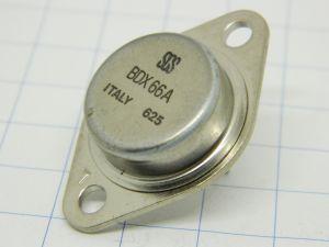 BDX66A SGS transistor PNP 80V 20A   TO3