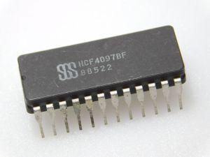 HCF4097BF  analog multiplexer/demultiplexer SGS