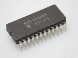 HCC4034BF  ceramic serial parallel SGS