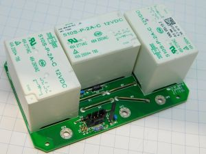 Relay SONG CHUAN 510S-P-2A-C , coil 12Vdc , 2 contacts 48A 277Vac (n.3pcs. on pcb)