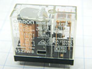 Relay OMRON G2r-2 15Z7W8  48Vdc  2 SPDT 5A 250Vac