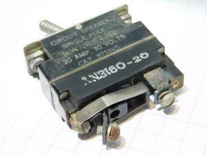 AN3160-20 interruttore termico ripristinabile 20A
