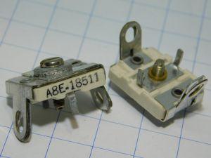 Ceramic variable capacitor 5-50pF 500V A8E18511 (n.2 pcs.)