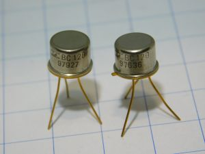 BC120 transistor NPN 60V 800mW , gold (n.2pcs.)