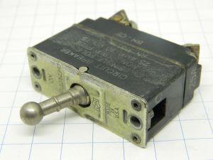 AN3160-25 interruttore termico aeronautico ripristinabile 25A