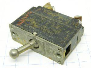 AN3160-5 interruttore termico aeronautico ripristinabile 5A