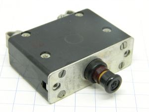 Mechanical Products AN3161P-15 circuit breaker aircraft 15A, interruttore termico ripristinabile