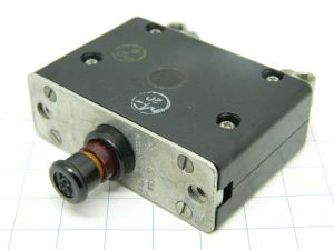 Mechanical Products AN3161P-35 circuit breaker aircraft 35A, interruttore termico ripristinabile