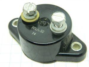 KLIXON PDLA 50 circuit breaker 50A 28Vdc automatic reset , interruttore termico