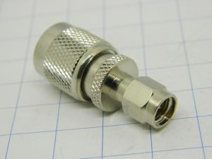 Coaxial adapter SMA-M/TNC-M