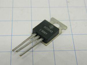 BD540 Texas transistor