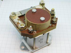 Relè 24Vcc 200A 6141H126  con shunt amperometrico