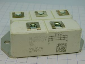 SKD110/16 Semikron 3 phase rectifier bridge 1600V 110A