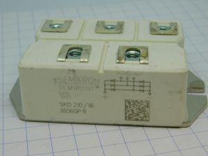 SKD210/16 Semikron 3 phase rectifier bridge 1600V 210A
