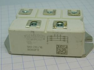 SKD210/16 Semikron 3 phase rectifier bridge  210A  1600V