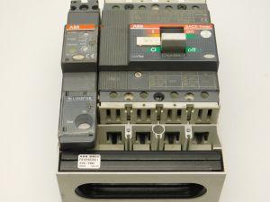 Automatic circuit breaker ABB SACE Tmax T1C160 In34A+differenziale R222 4poles