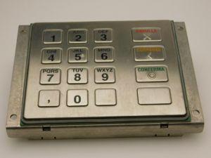 Internet kiosk metal keyboard EPP-PCI Sagem ITA 1318-4241 R1A