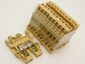 Morsetto componibile barra DIN CABUR CBD.2 mmq.2,5 (n.10 pezzi)