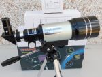 Telescopio astronomico F30070M  150 ingrandimenti con tripode e accessori