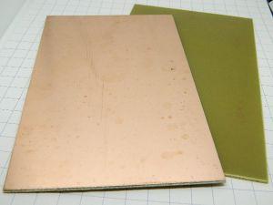 Vetronite ramata monofaccia basetta mm. 160x100  spessore mm.1,58  ( N.2 pezzi)