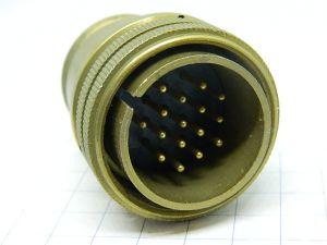 Connector AMPHENOL AN3106A-24-5P  16pin plug male
