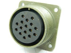 Connettore AN3102R24-5S (c)  16pin femmina da pannello