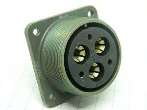 Connector MS3102R -28-22S  Bendix  6pin  socket female