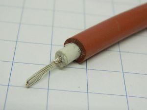 Cavo unipolare alta tensione 60KV silicone doppio isolamento AWG14