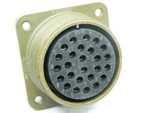 Connector MS3102R-28-12S  Bendix  26pin  socket female