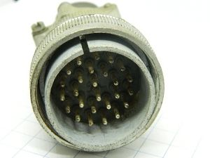 Connector AN3106M-28-12P  Cannon  26pin  plug male