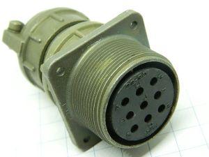 Connettore MS3100E-22-20S (C)  Bendix  9pin  femmina da pannello