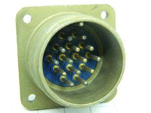 Connector AN3102A-20-27P  Amphenol  14pin  socket male