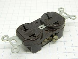 American panel power socket HUBELL