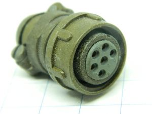 Connector MC 11E-10-6SY  Cannon  6pin  plug female