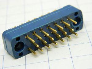 Connector Tuchel  20pin  3 row  male